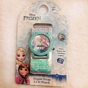 NWT Frozen LCD watch